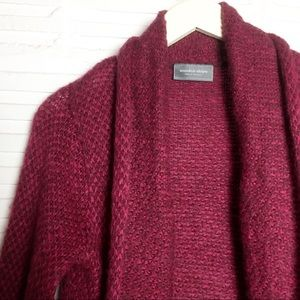 Wooden Ships Anthro Knit Open Cardigan Size S/M